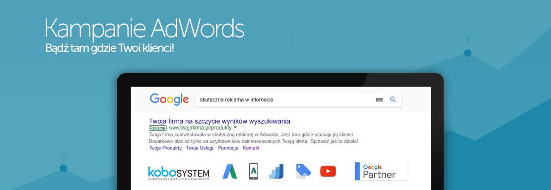 kampanie google adwords - kobosystem łódź