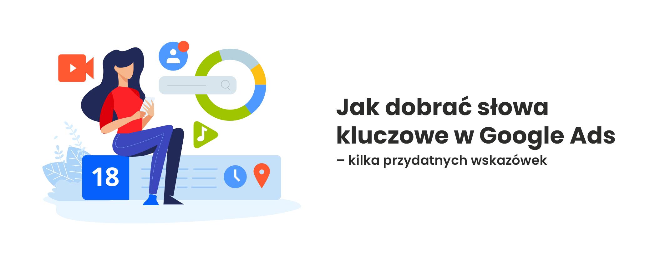słowa kluczowe w google ads