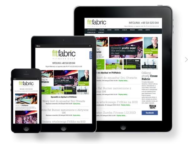 mobile strony internetowe