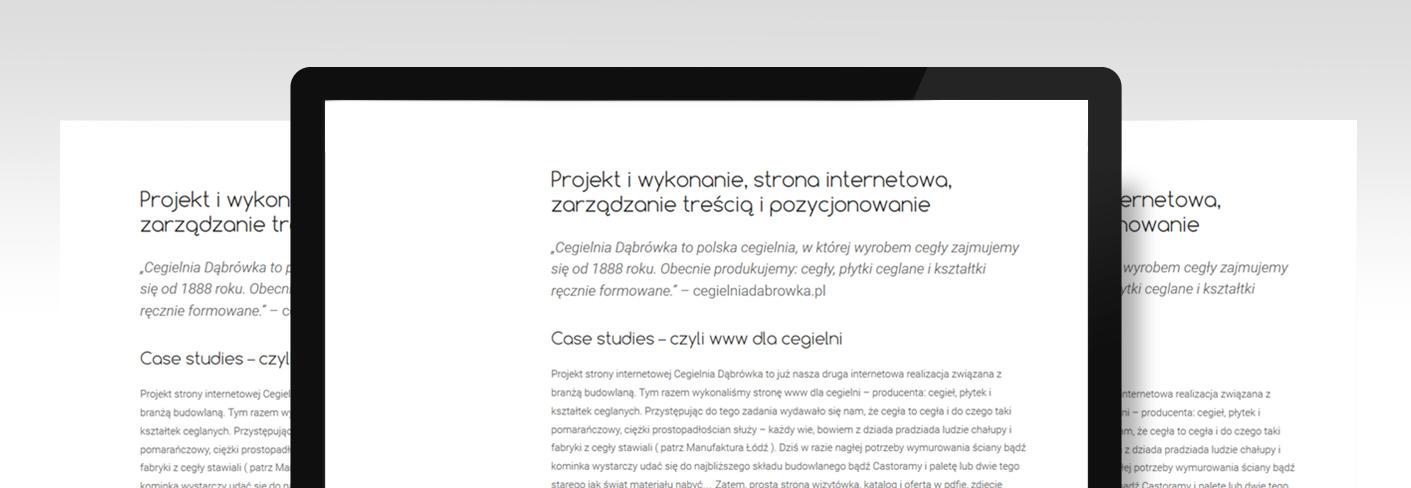 copywriting pisanie tekstów na stronę
