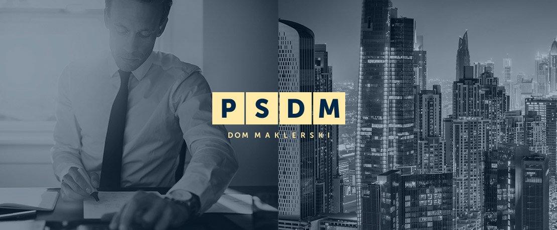 projekt logotypu dla biura maklerskiego - agencja interaktywna KoboSystem Łódź