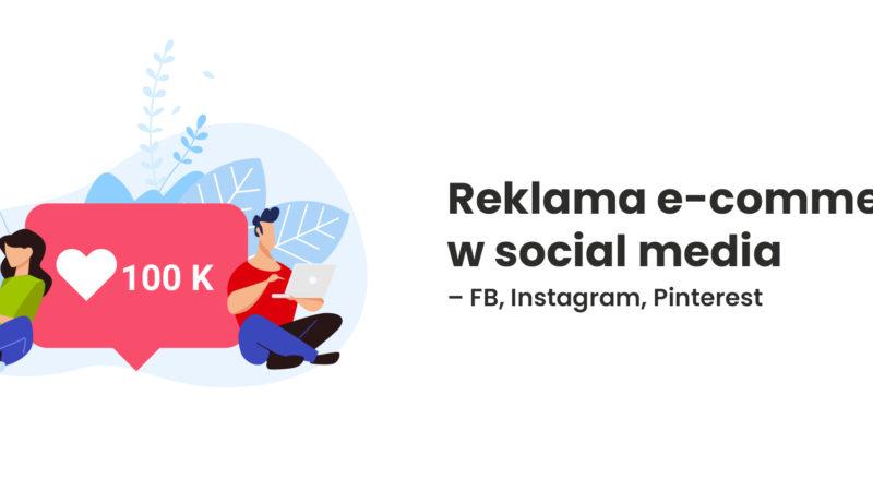 reklama e-commerce w social media