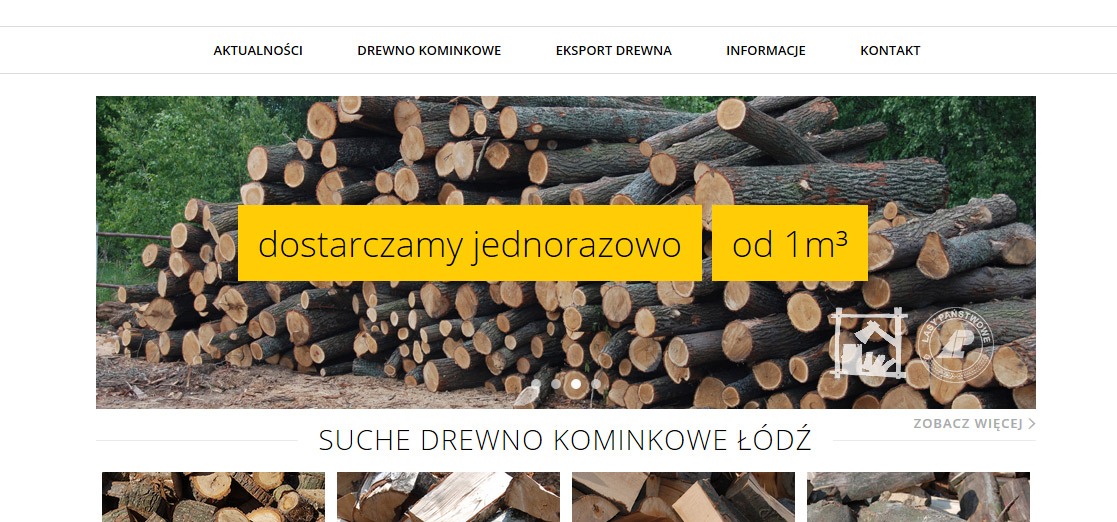 sklep internetowy drewno kominkowe