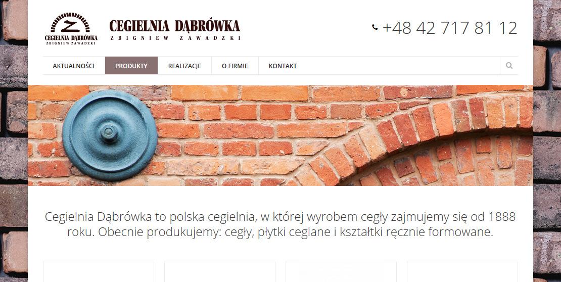 strona internetowa cegielnia