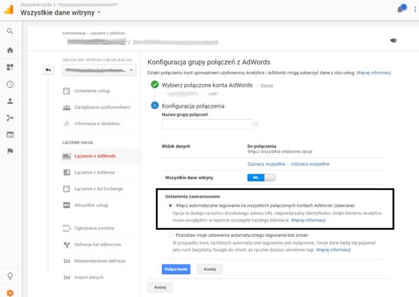 automatyczne tagowanie analytics