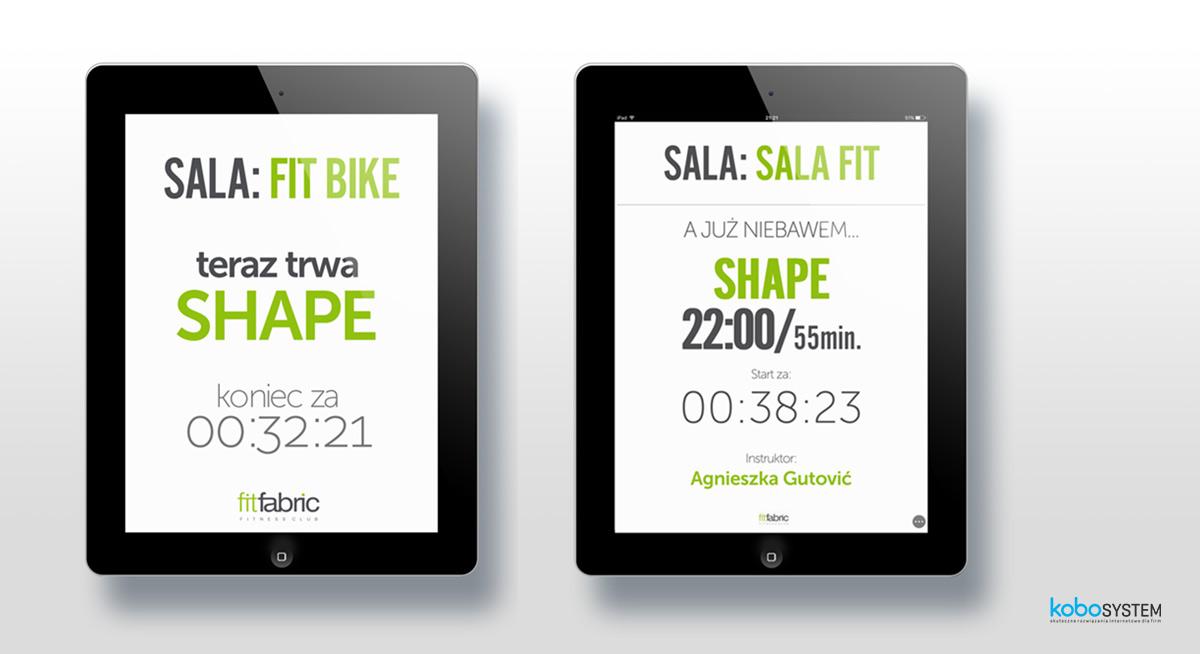aplikacja dla klubu fitness